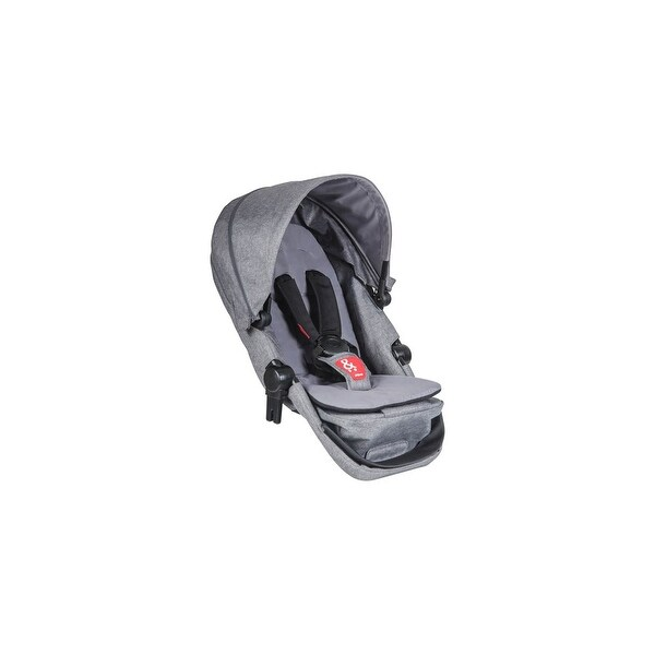 Phil and Teds Voyager Buggy Double Kit-Grey Marle Voyager Double Kit