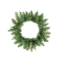 "20"" Buffalo Fir Artificial Christmas Wreath - Unlit - green"