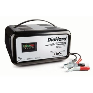 Die Hard 71221 Manual Battery Charger, 12 V, 10 Amp
