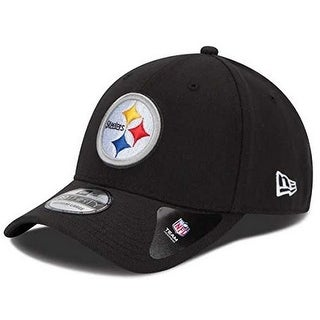 New Era Mens Pittsburgh Steelers Flex Fit, Black