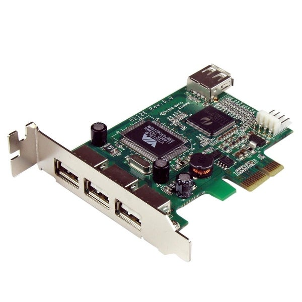 Startech - Pexusb4dp Low Profile High Speed Pcie Usbncard