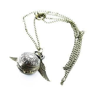 Harry Potter Superior Vintage Golden Snitch Pocket Watch