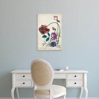 Easy Art Prints Melissa Wang's 'Antique Peony II' Premium Canvas Art