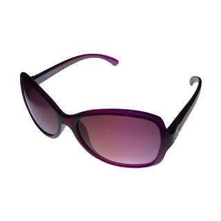 Esprit Womens Sunglass 19366 544 Violet Square Fashion Plastic, Violet Lens - Medium
