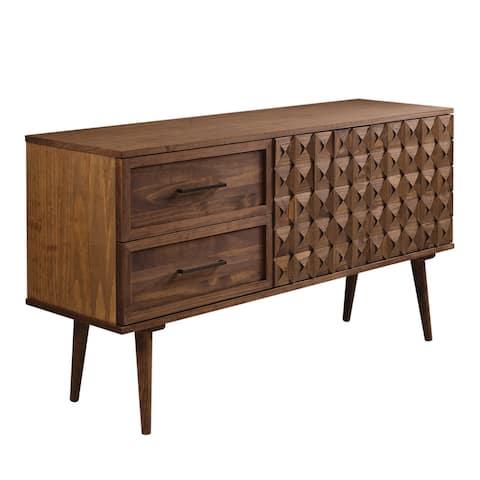 Strick & Bolton Solid Wood Prism Sideboard Cabinet