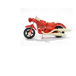 Papero Red Motorcycle Assemblage Kit