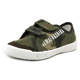Dirk Bikkembergs Michi Round Toe Canvas Sneakers