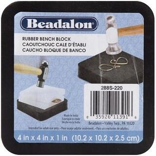 "Rubber Bench Block 4""X4""-"