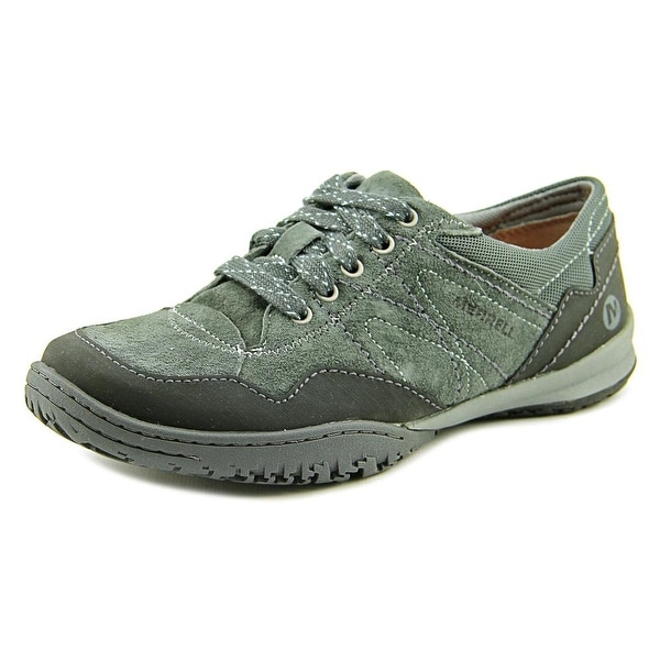 Merrell Albany Lace Women Round Toe Suede Hiking Shoe
