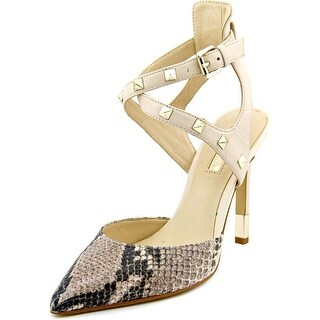 Guess Brea Pointed Toe Leather Heels