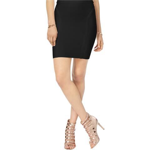 Guess Womens Bandage Mini Skirt