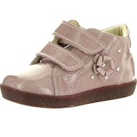 Falcotto Girls 1338 European Fashion First Walker Booties - glitter antracite