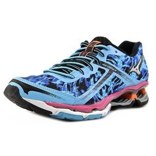 Mizuno Wave Creation 15 Women Round Toe Synthetic Blue Running Shoe