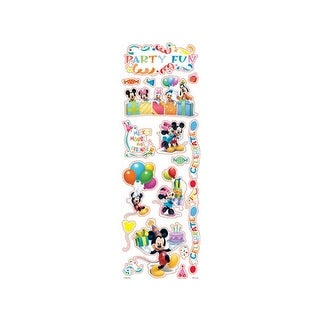 SandyLion Disney Mickey Sticker Clear Party