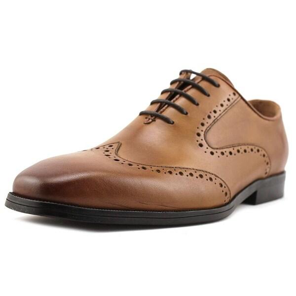 Steve Madden Honsdale Wingtip Toe Leather Oxford