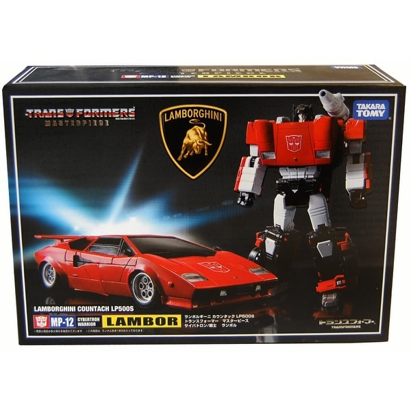 Transformers Masterpiece Figure: MP-12 Sideswipe