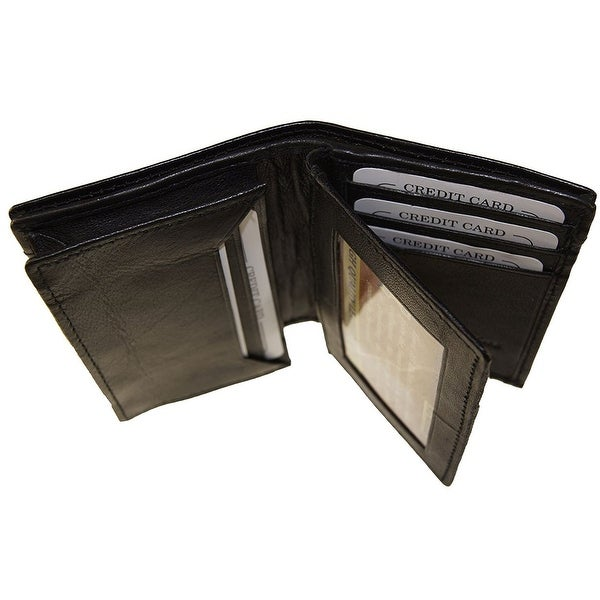 ccf2879f07ab Shop Improving Lifestyles Leather Expandable Gusset Credit Card ...