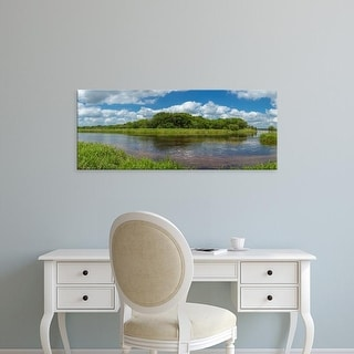 Easy Art Prints Panoramic Images's 'Myakka River in Myakka River State Park, Sarasota, Florida, USA' Canvas Art