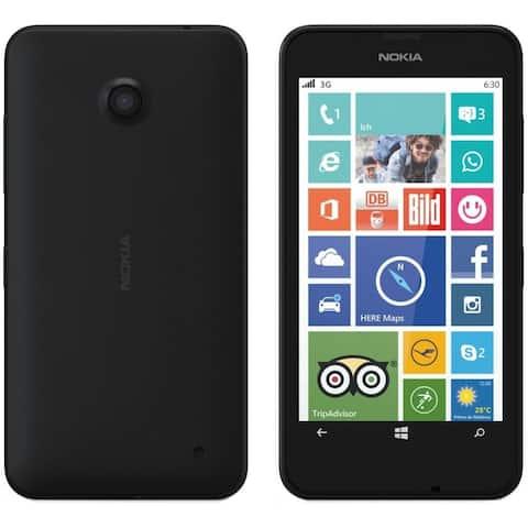 Nokia Lumia 630 RM-977 8GB GSM Unlocked Microsoft Windows Phone - Black (Certified Refurbished)