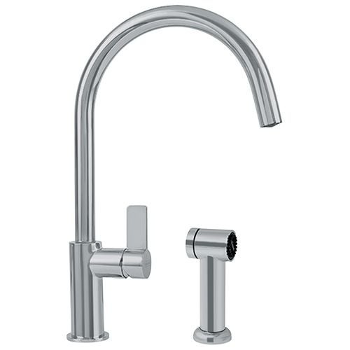 Franke FFS3100 Ambient High Arc Kitchen Faucet - Includes Side Spray