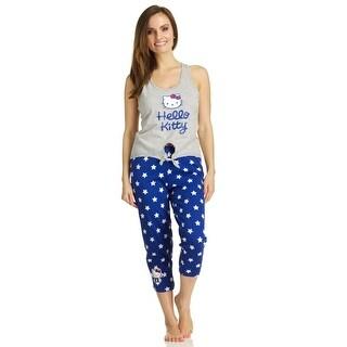 Hello Kitty American Kitty Tank/Capri Legging Pajama Set (3 options available)
