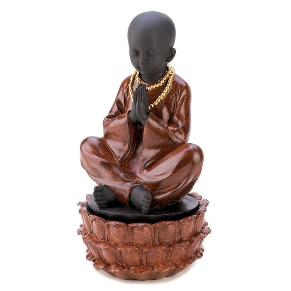 Sitting Monk Treasure Box