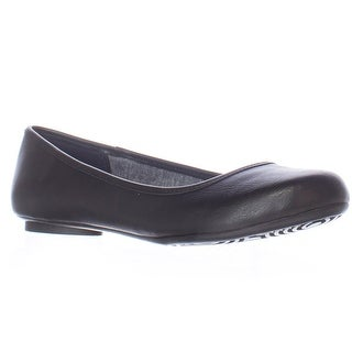 Dr. Scholl's Friendly Memory Foam Cool Fit Flats - Black