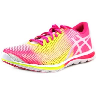 Asics Gel-Super J33 Women Round Toe Synthetic Pink Running Shoe
