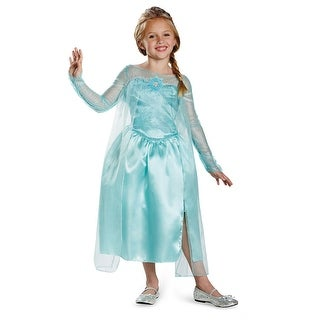 Frozen Girls Elsa Snow Queen Halloween Costume - small (size 4-6x)