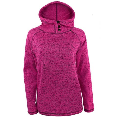 Victory Outfitters Ladies Fleece Heather Pullover Hoodie