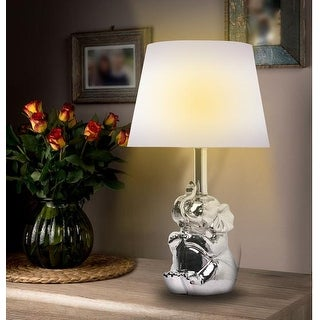 KANSTAR 19u0026quot;Ceramic Elephant Table Lamp ...