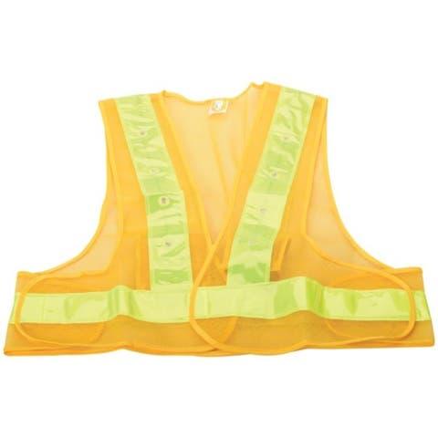 MAXSA Innovations 20029 Reflective Safety Vest with 16 LEDs (Medium) - Orange