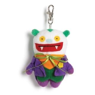 "Ugly Dolls DC Comics 4"" Plush Clip-On: Big Toe Joker"