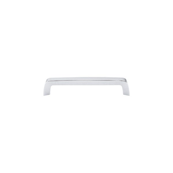 Top Knobs M1172 Nouveau III 6-5/16 Inch Center to Center Handle Cabinet Pull - Polished chrome