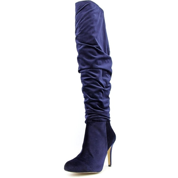 INC International Concepts Thalis Women  Synthetic Blue Over the Knee Boot