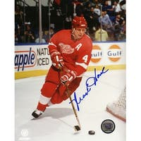 Mark Howe Detroit Red Wings Action 8x10 Photo