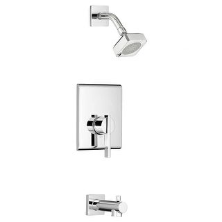 American Standard TU184.508  Times Square Tub and Shower Trim Package with 1.75 GPM Multi Function Shower Head