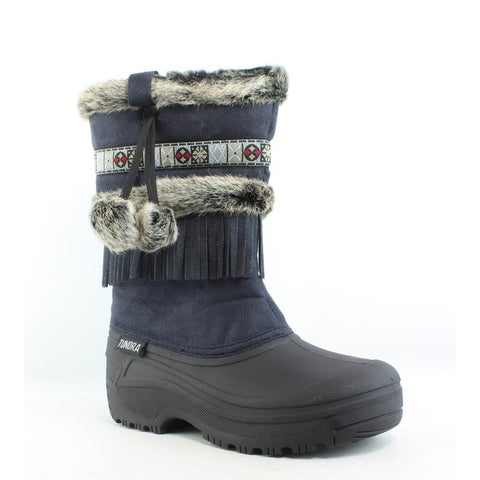 Tundra Womens Nevada Black Snow Boots Size 7