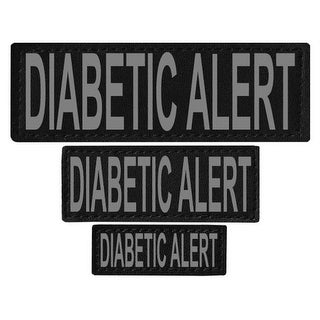 Diabetic Alert Removable Side Patches For Unimax & Alpha Harnesses