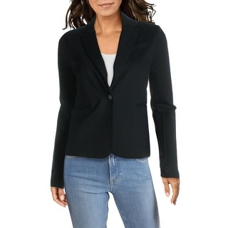Link to Aqua Womens One-Button Blazer Ponte Classic Similar Items in Suits & Suit Separates
