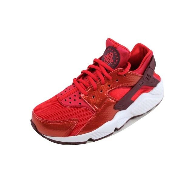 Nike Women's Air Huarache Run University Red/Night Maroon-White 634835-605