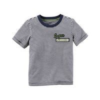Carter's Baby Boys' Striped Ringer Tee, 12 Months