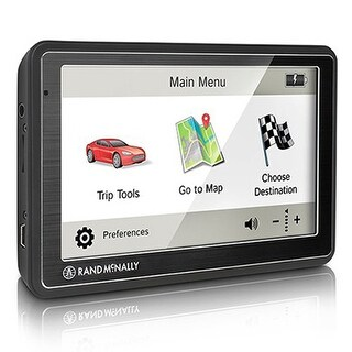 Rand McNally Road Explorer 5 GPS Vehicle Navigation System w/ Preloaded maps of US & Canada
