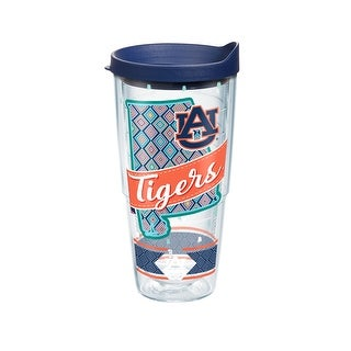 NCAA Auburn Tigers Class 24 oz Tumbler with lid