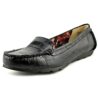 Anne Klein Knowell Round Toe Leather Loafer