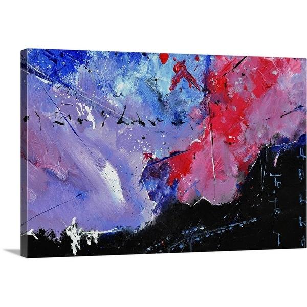 """Abstract 45216"" Canvas Wall Art"