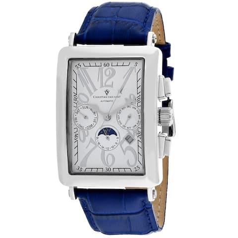 Christian Van Sant Men's Prodigy White Dial Watch - CV9139 - One Size