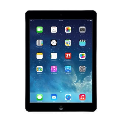 """Apple iPad Air MD786LL/A 32GB Wifi 9.7"""", Space Gray (Scratch and Dent)"""