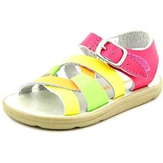 Jumping Jacks Taffy Youth Open Toe Leather Multi Color Gladiator Sandal