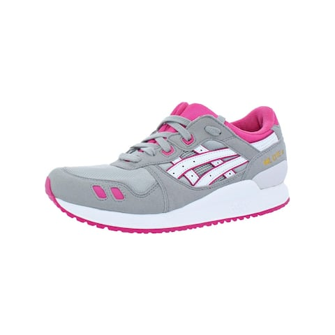 Asics Girls Gel-Lyte III Running Shoes Big Kid Retro